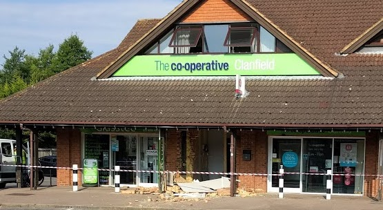 Co-op ram-raid – attack on our community