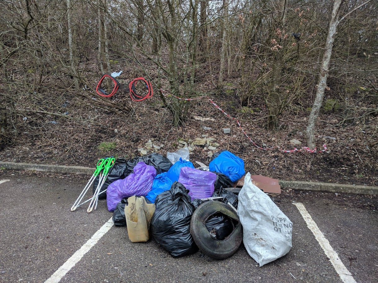 Clanfield Clean Up
