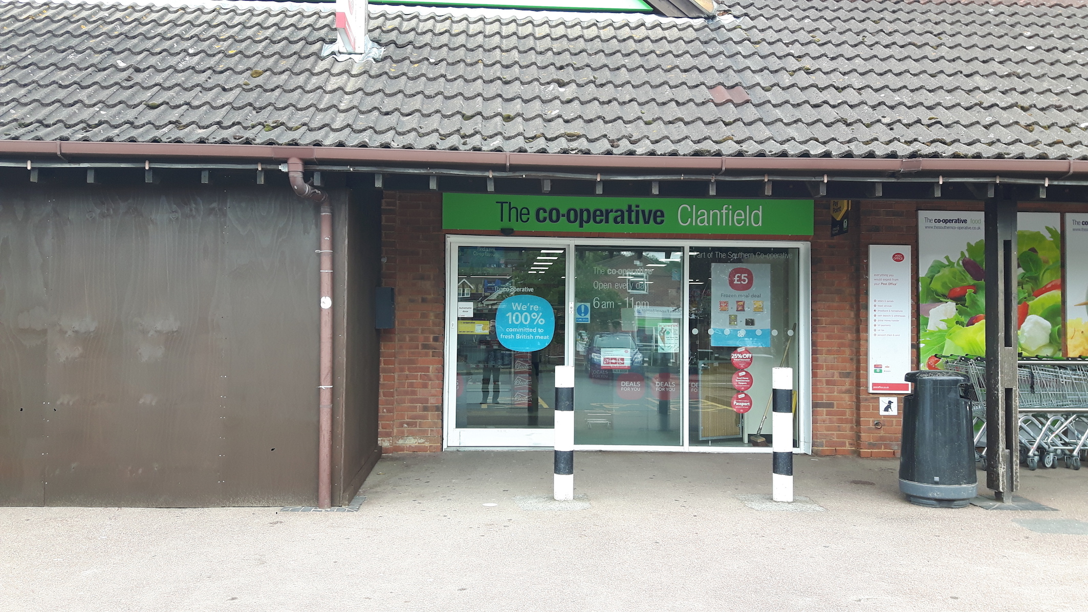 Clanfield Co-op open for business