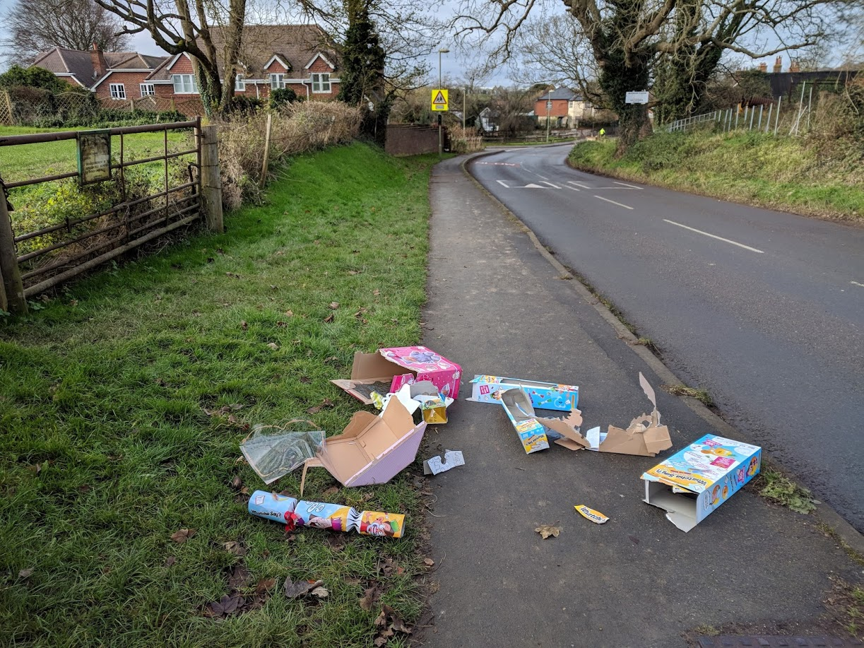 Fly tipping on our streets