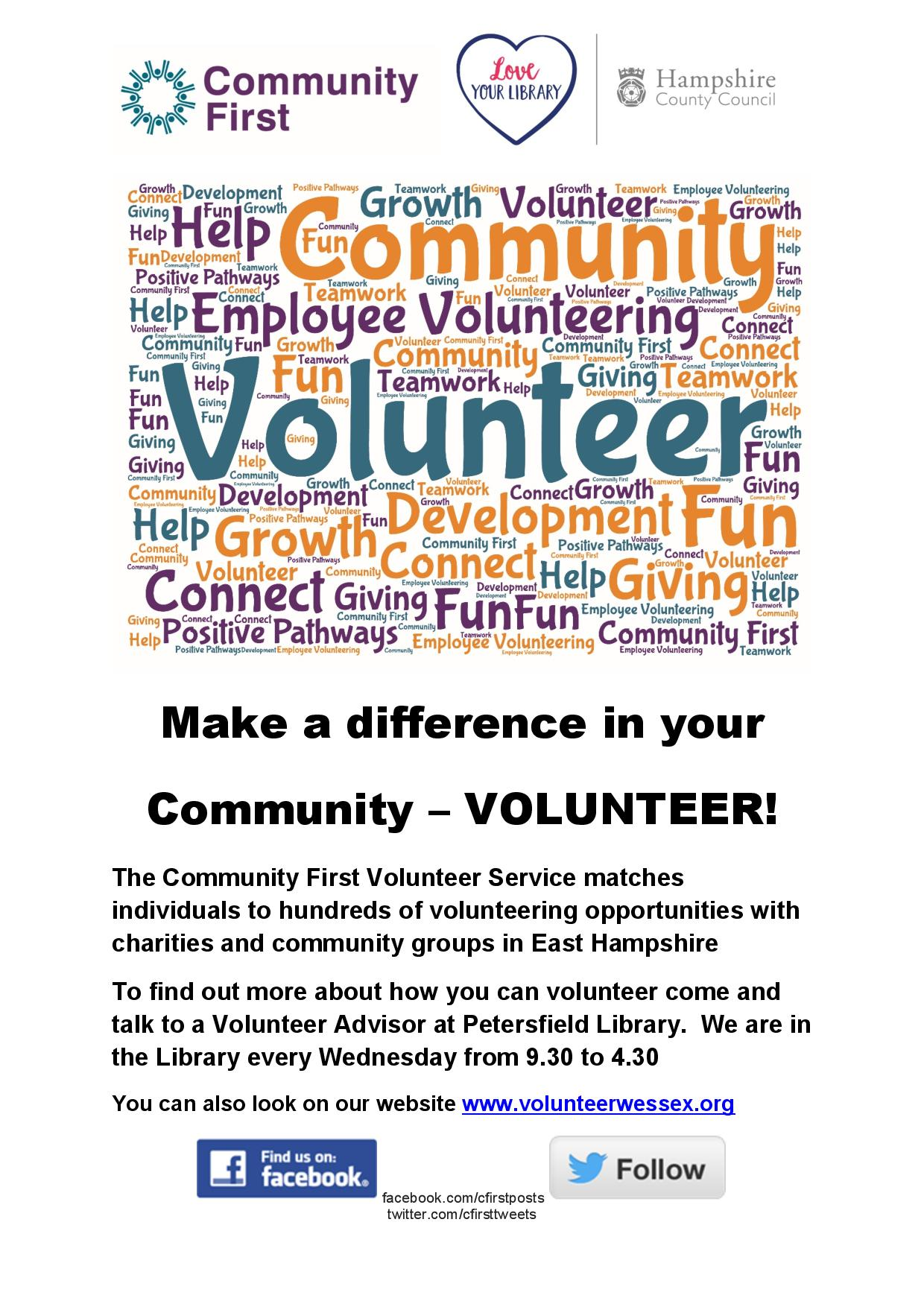 Communities First - New Year, New Opportunities!