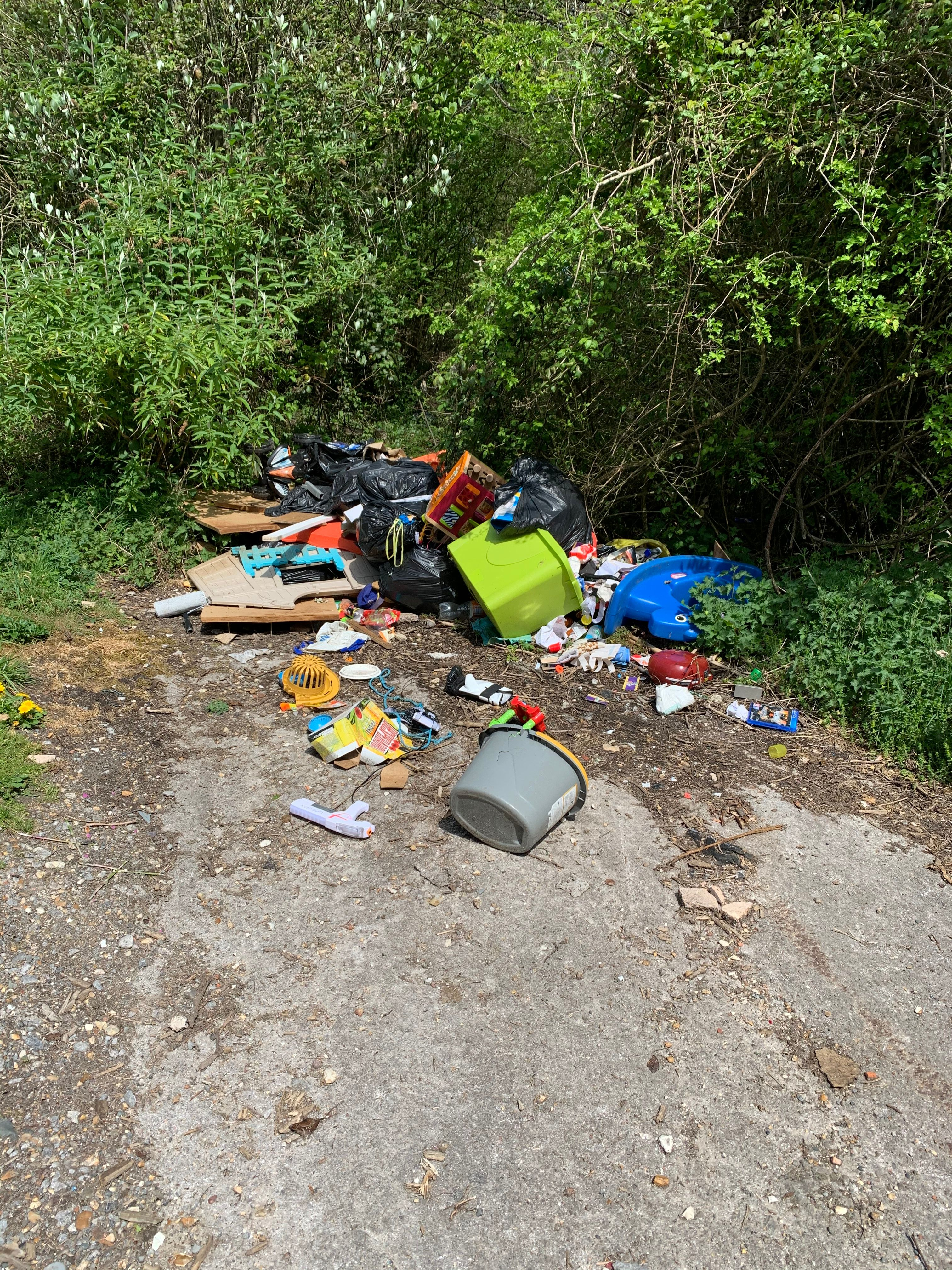Curse of fly-tipping