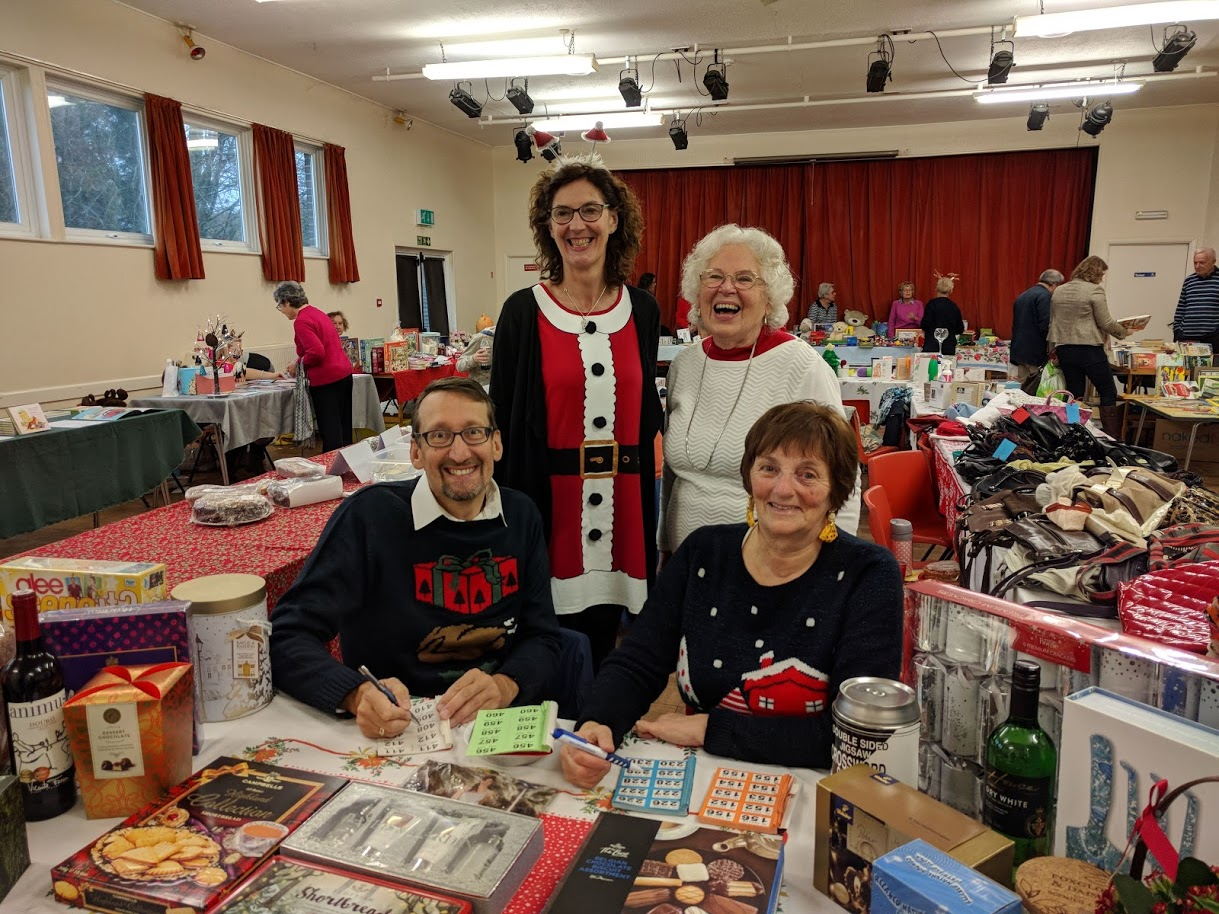 Warm Welcome at St James Christmas Fair