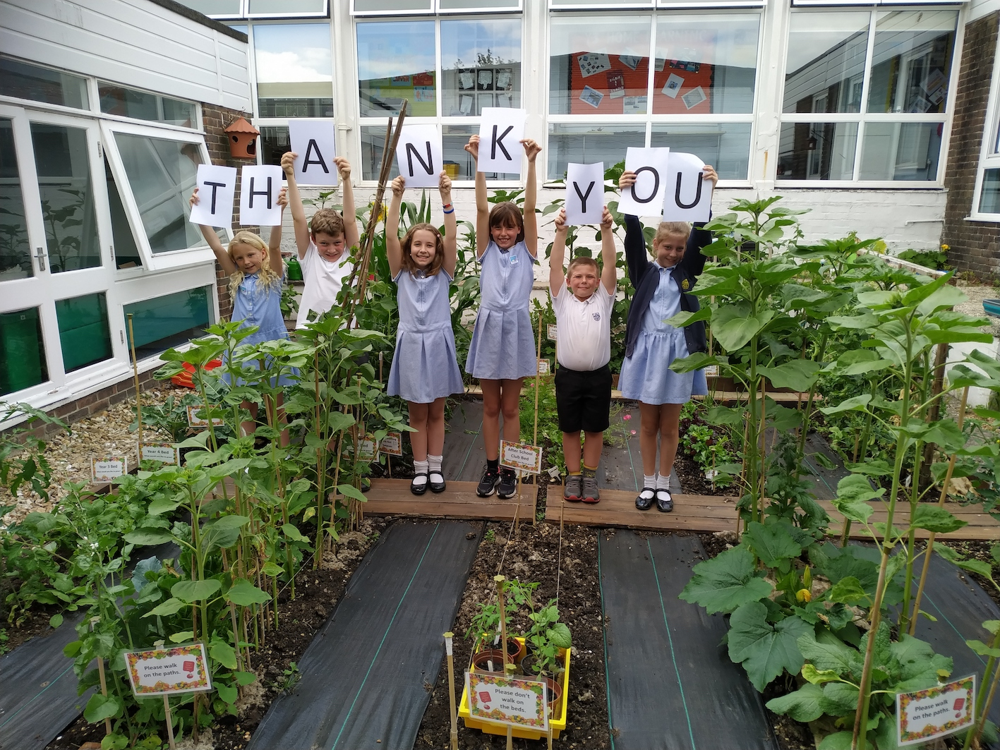 Big Thank you from CJS Gardening Club