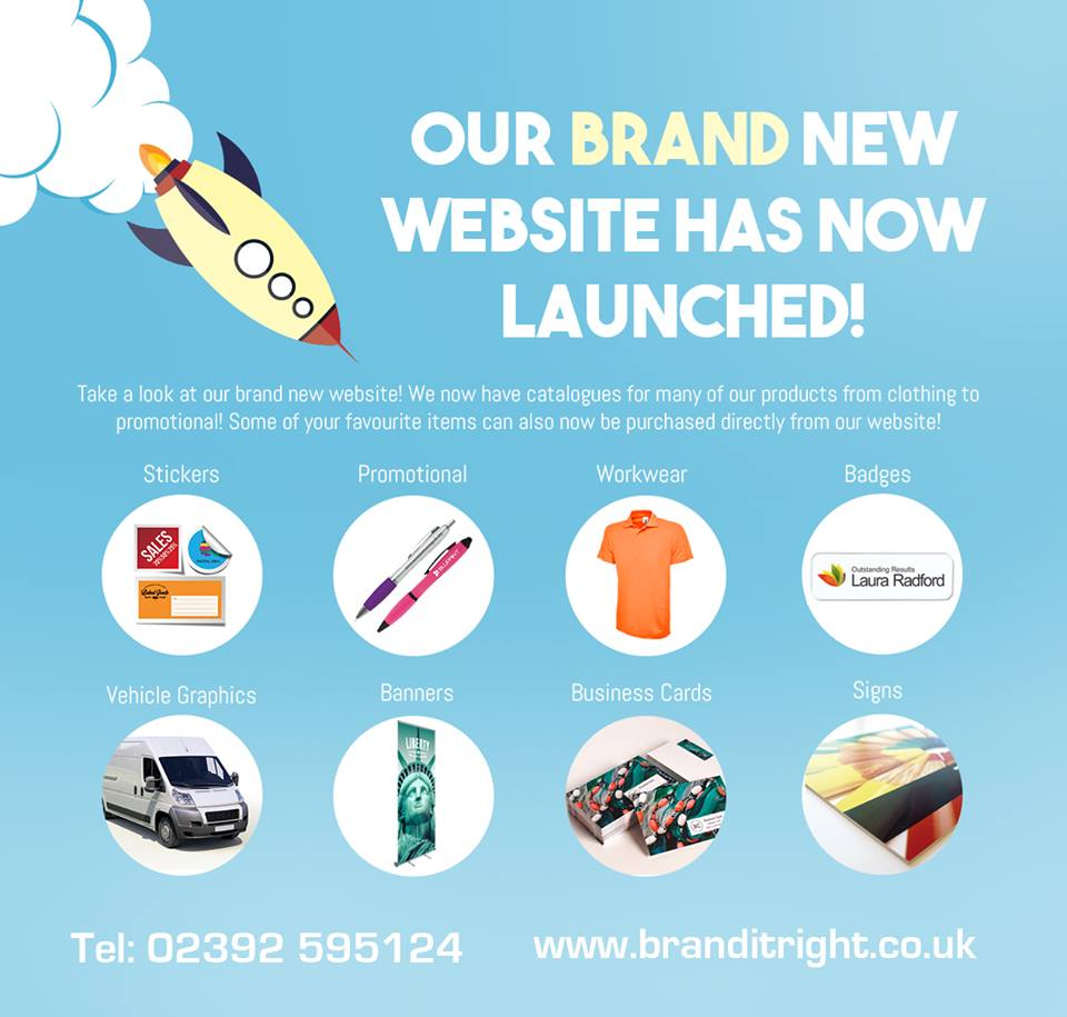 Brand New Website for Branditright