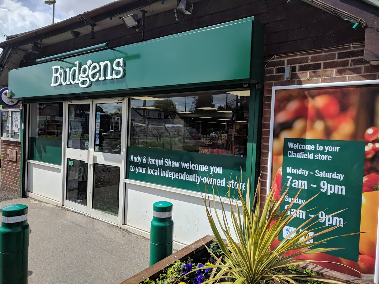 Budgens Clanfield – return to normal shopping hours