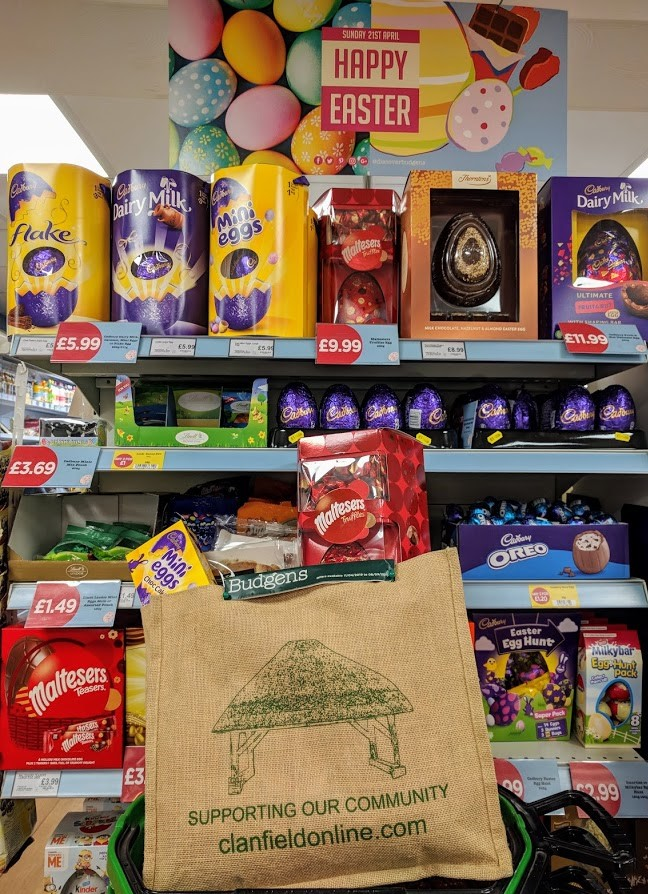 Budgens Easter treats in the bag!