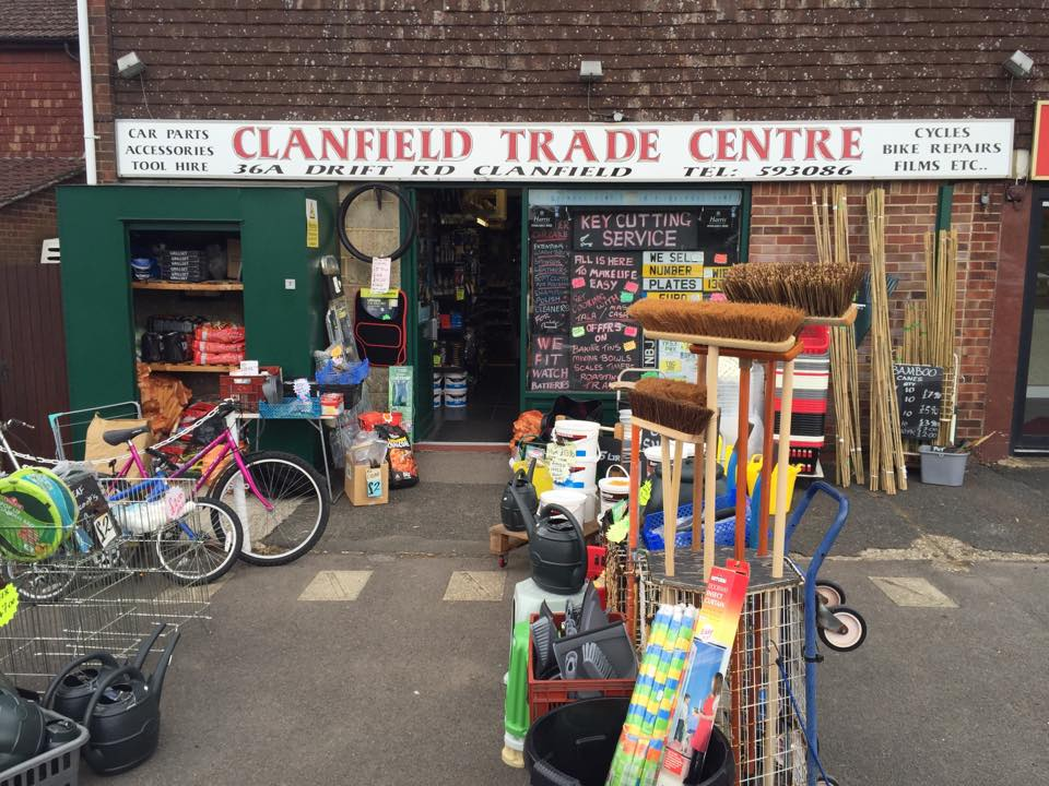 Clanfield Trade Centre Christmas and New Year hours