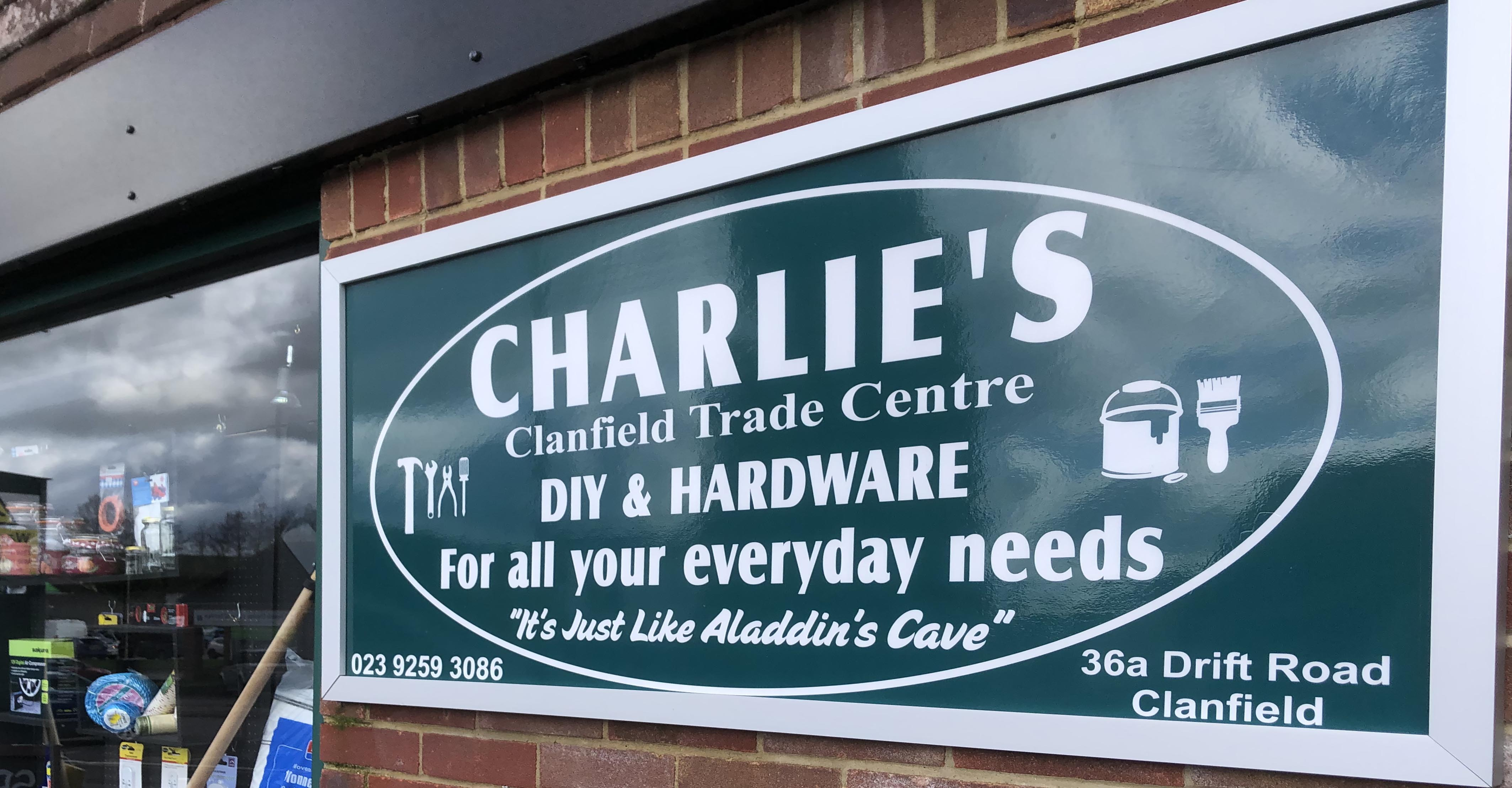 Charlie's Clanfield Trade Centre is increasing shop opening hours from Tuesday 27th May.