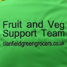 Clanfield Greengrocer & Florist -Fruit and Veg Support Team ready to help