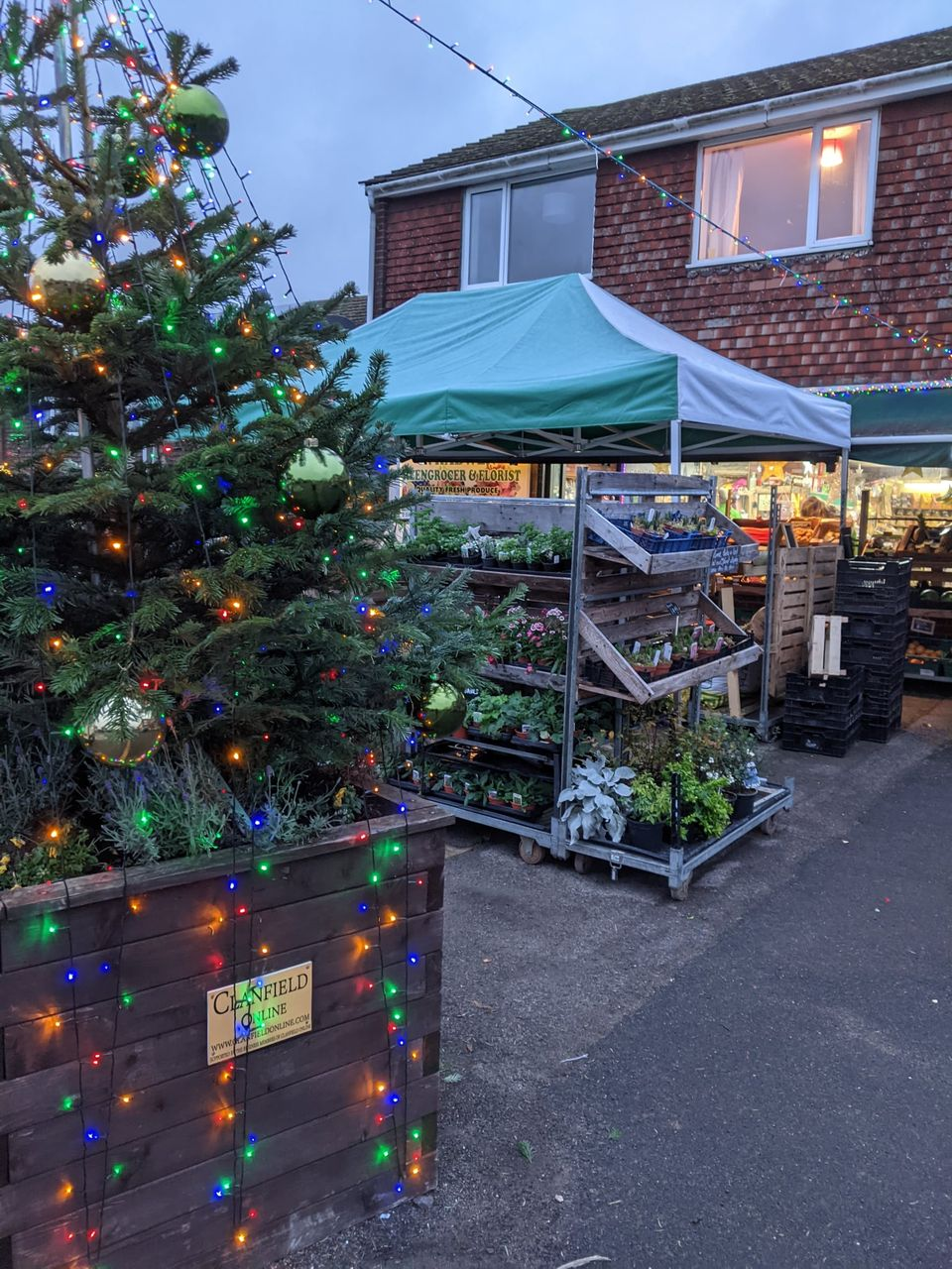 Clanfield Greengrocer & Florist Christmas-New Year Hours