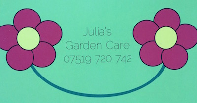 Clanfield Online welcomes Julia's Garden Care