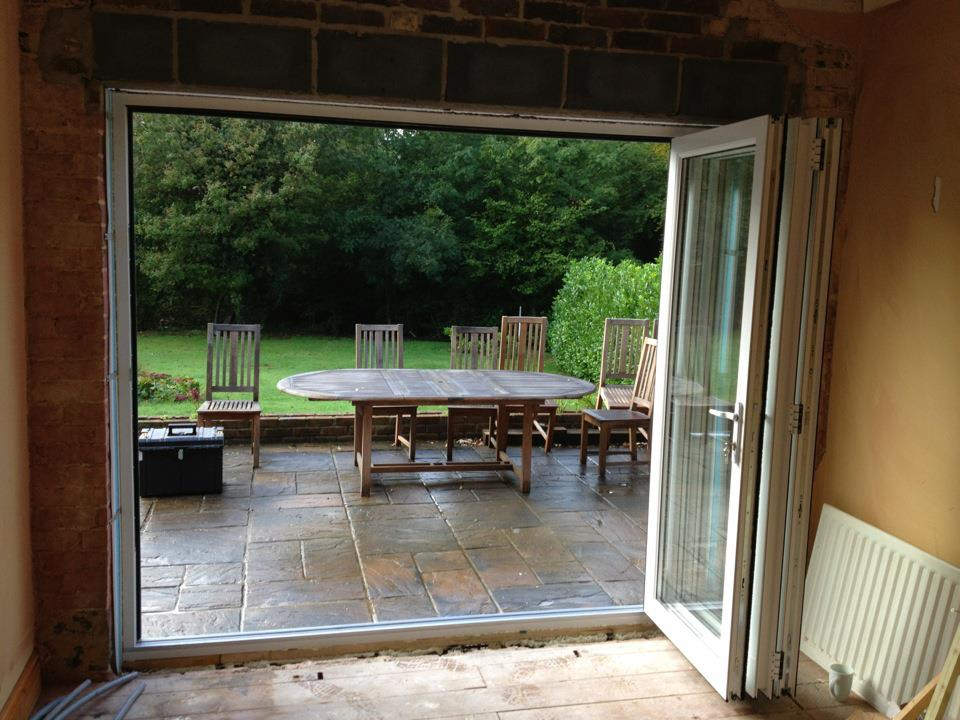Leydene Glass & Glazing Bifold doors