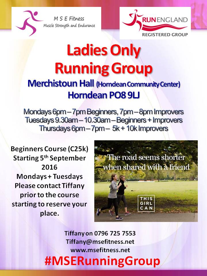 ladies running