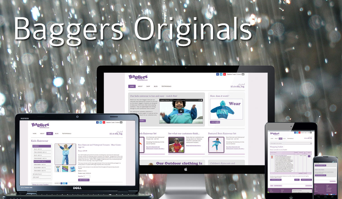 Baggers Originals Website