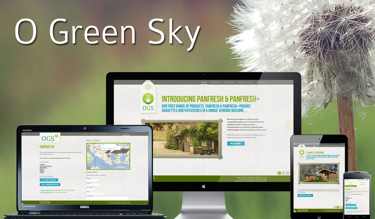 O Green Sky Website