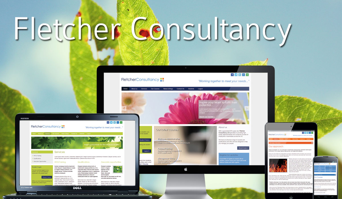 Fletcher Consultancy Website