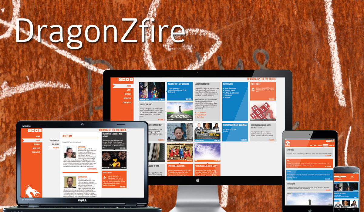 Dragonzfire Accounting Website