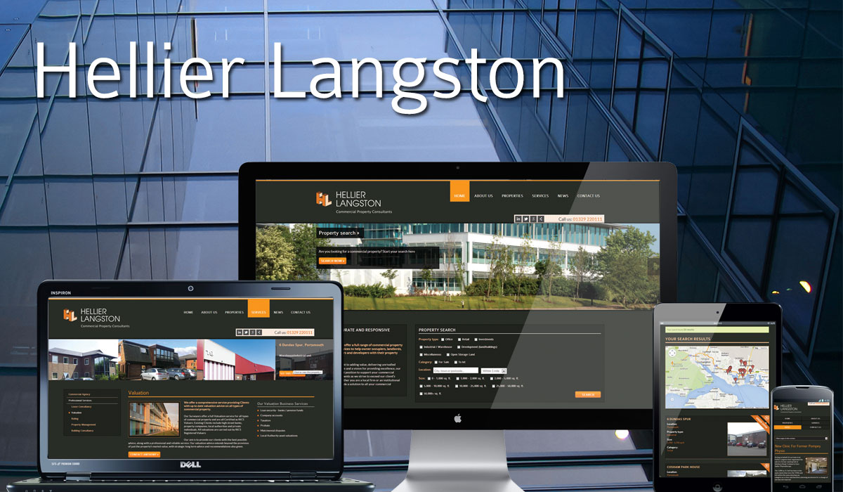 Hellier Langston Website