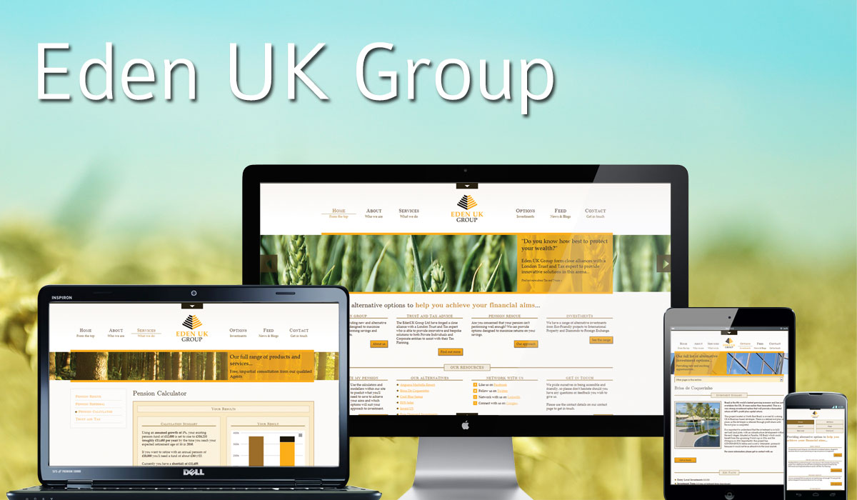 Eden UK Group Website
