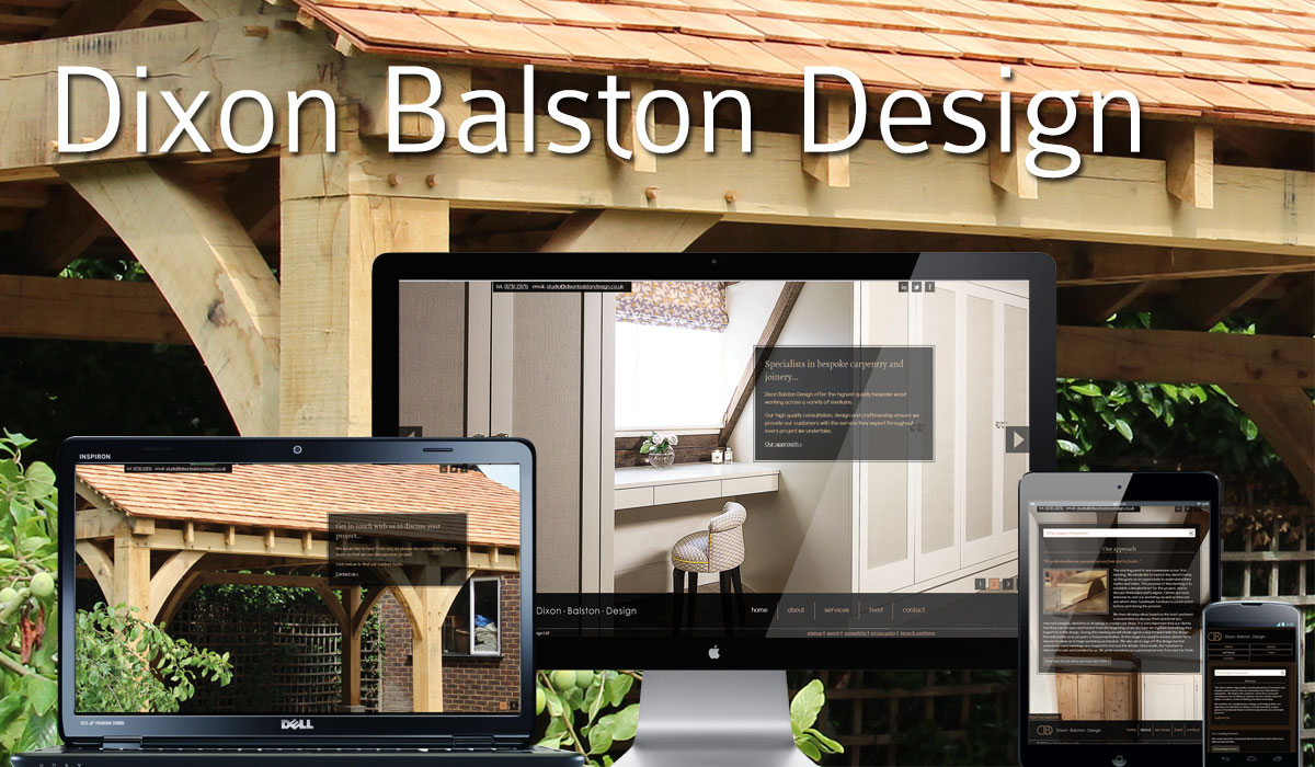 Dixon Balston Design Website