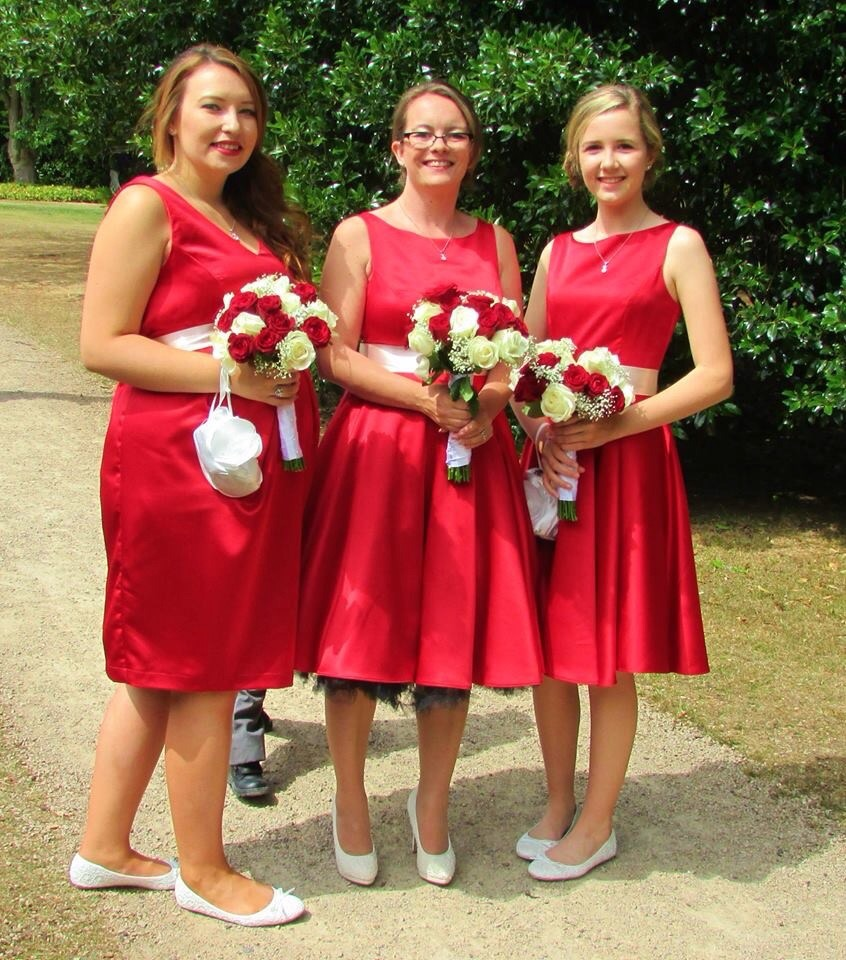 dresses made by sew 4 you being worn