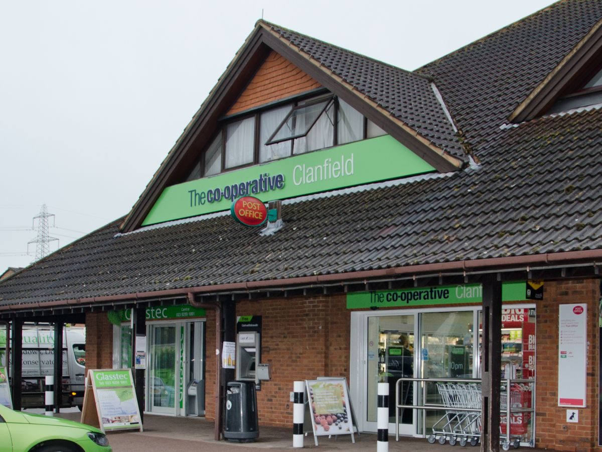 Clanfield Store Shot