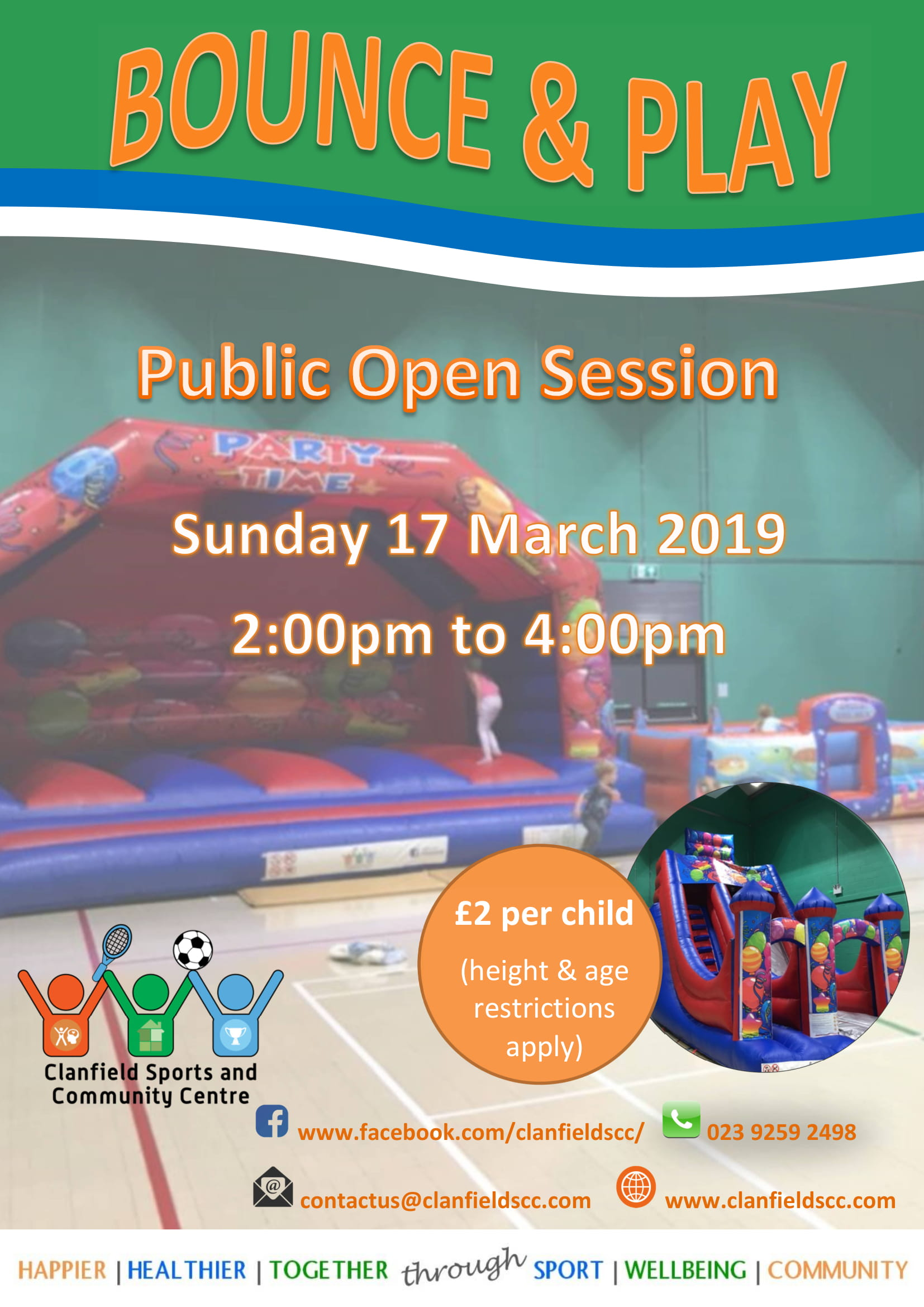 Clanfield Sports and Community Centre Bounce & Play