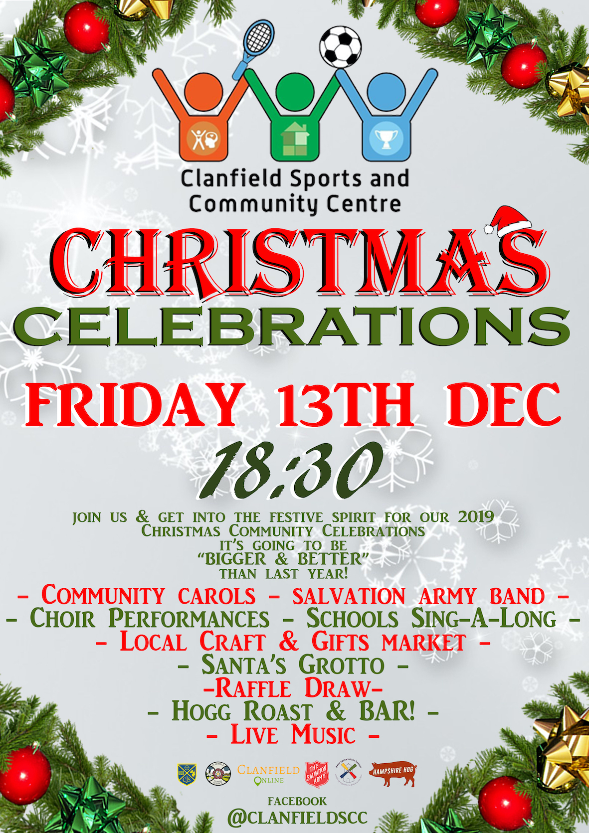 Clanfield Sports and Community Centre Christmas Celebrations
