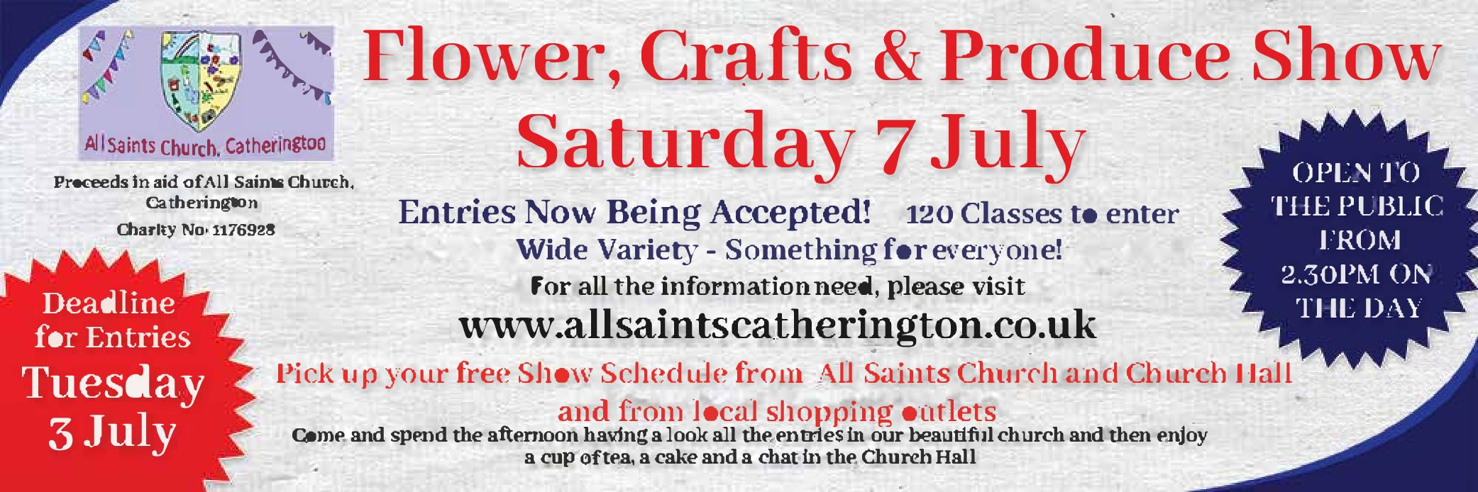 All Saints Church Flower, Crafts and Produce Show