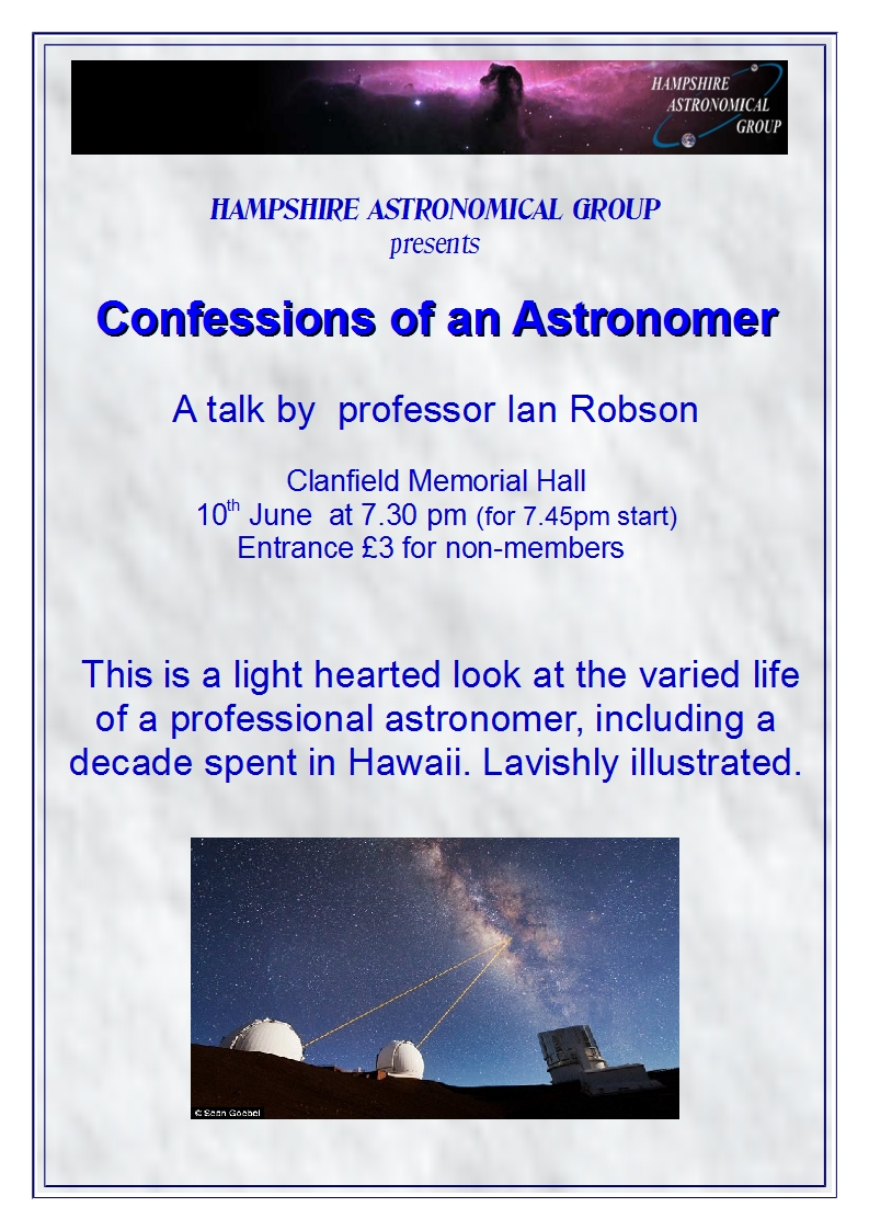 confessuions of an astonomer