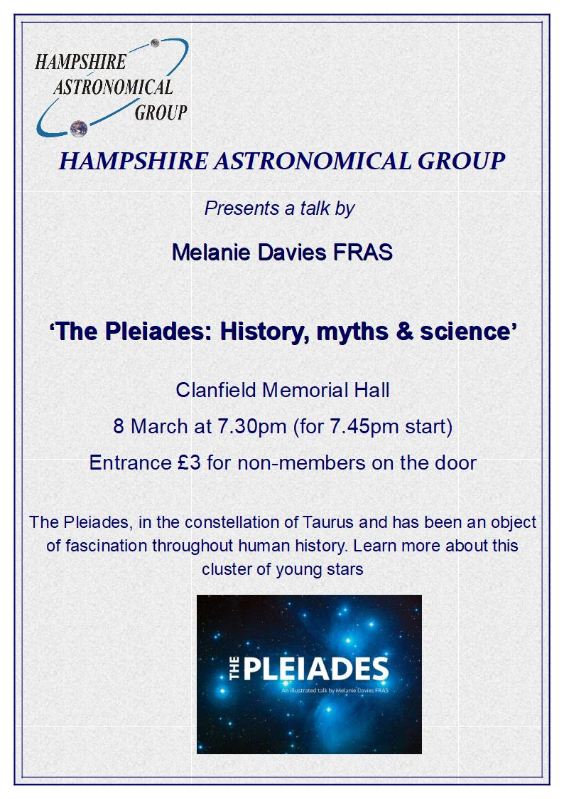 Hampshire Astronomical Group -