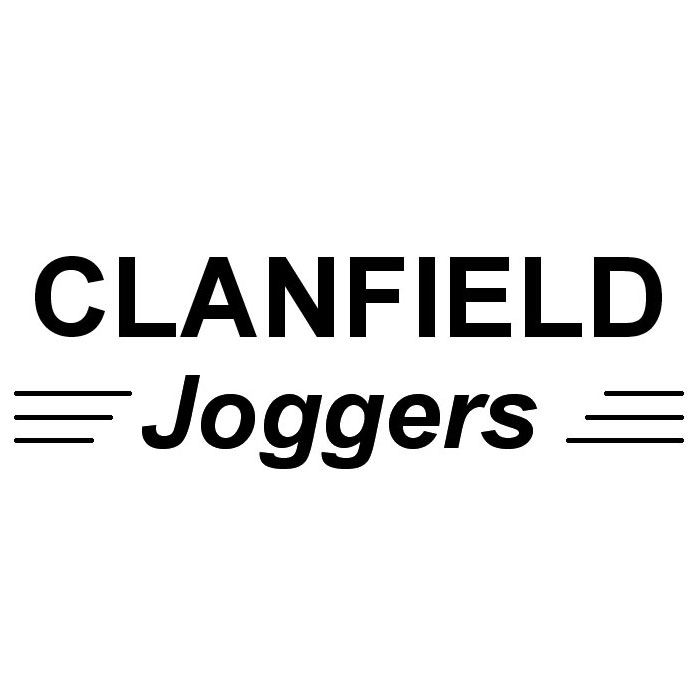 clanfield joggers logo