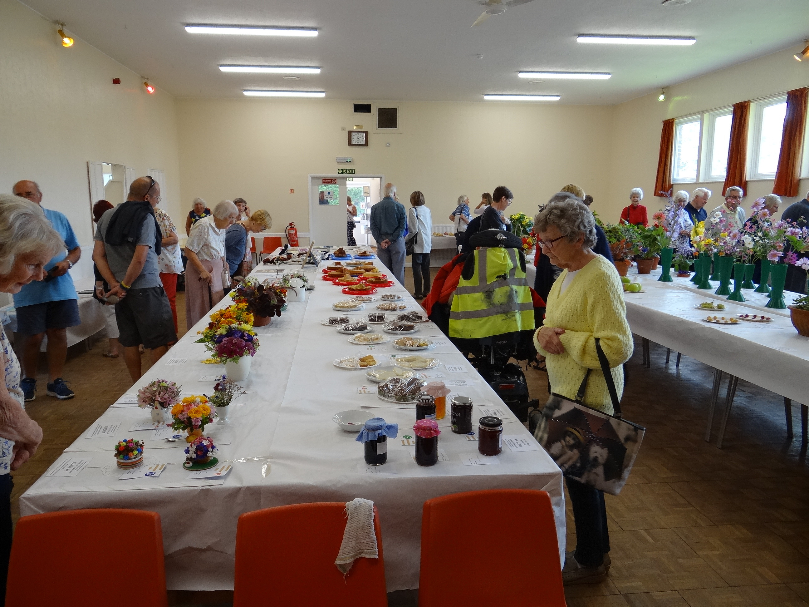 Clanfield Horticultural Show is a prized event