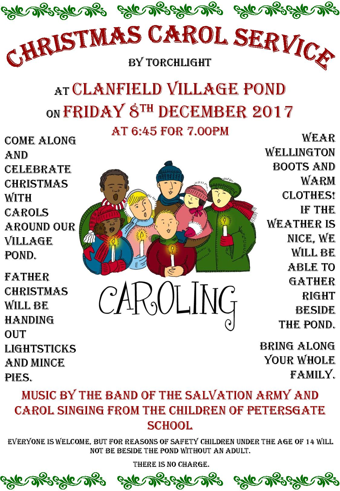 Carols round the pond clanfield online view all events stopboris Image collections