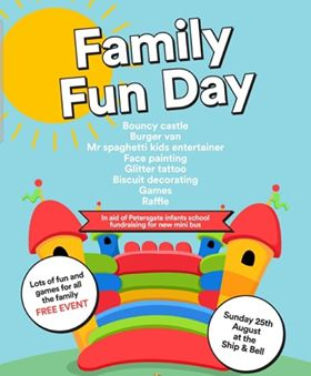 Family Fun Day for Minibus appeal
