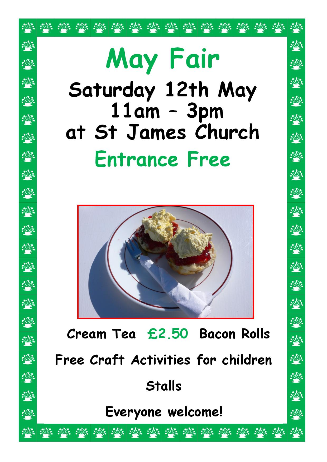 St James Church May Fair