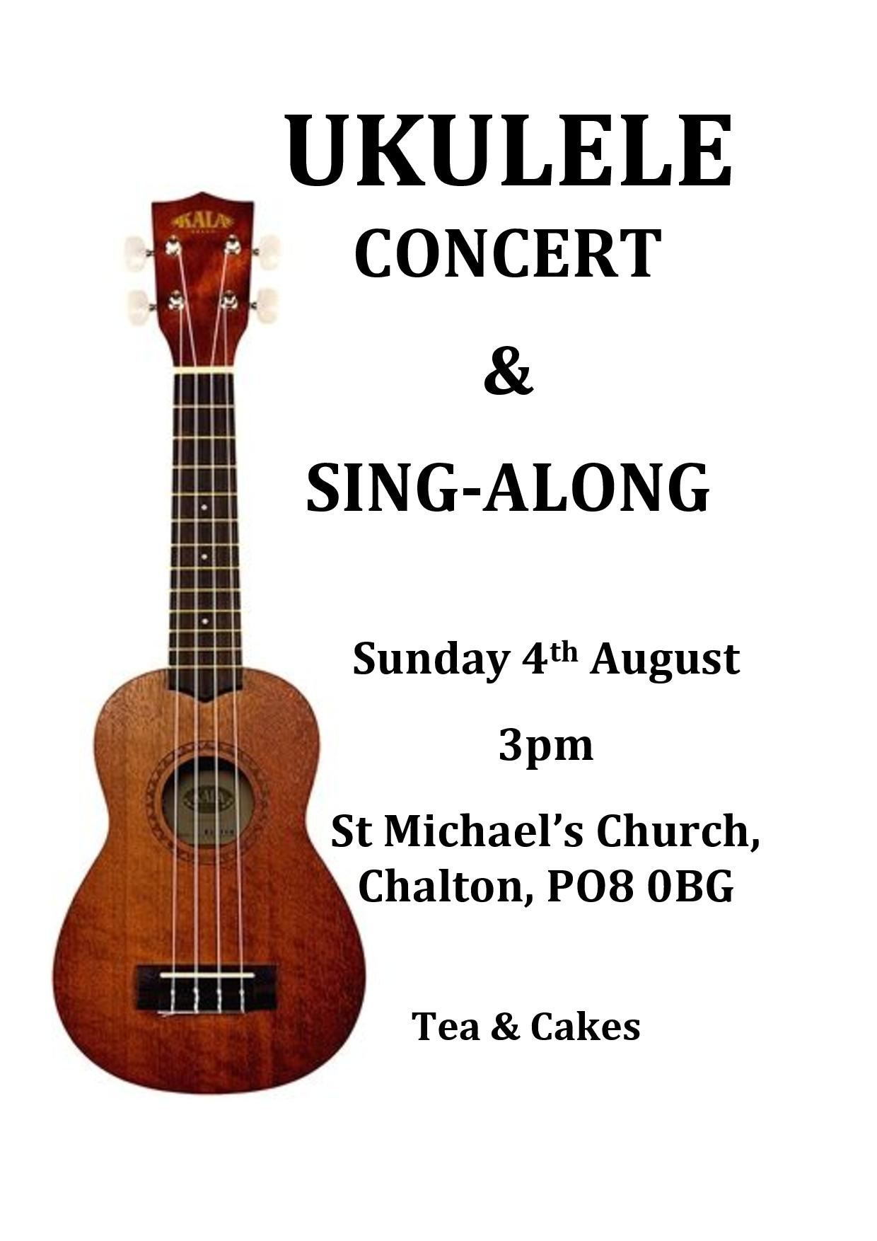 St Michael's Church, Ukulele Concert