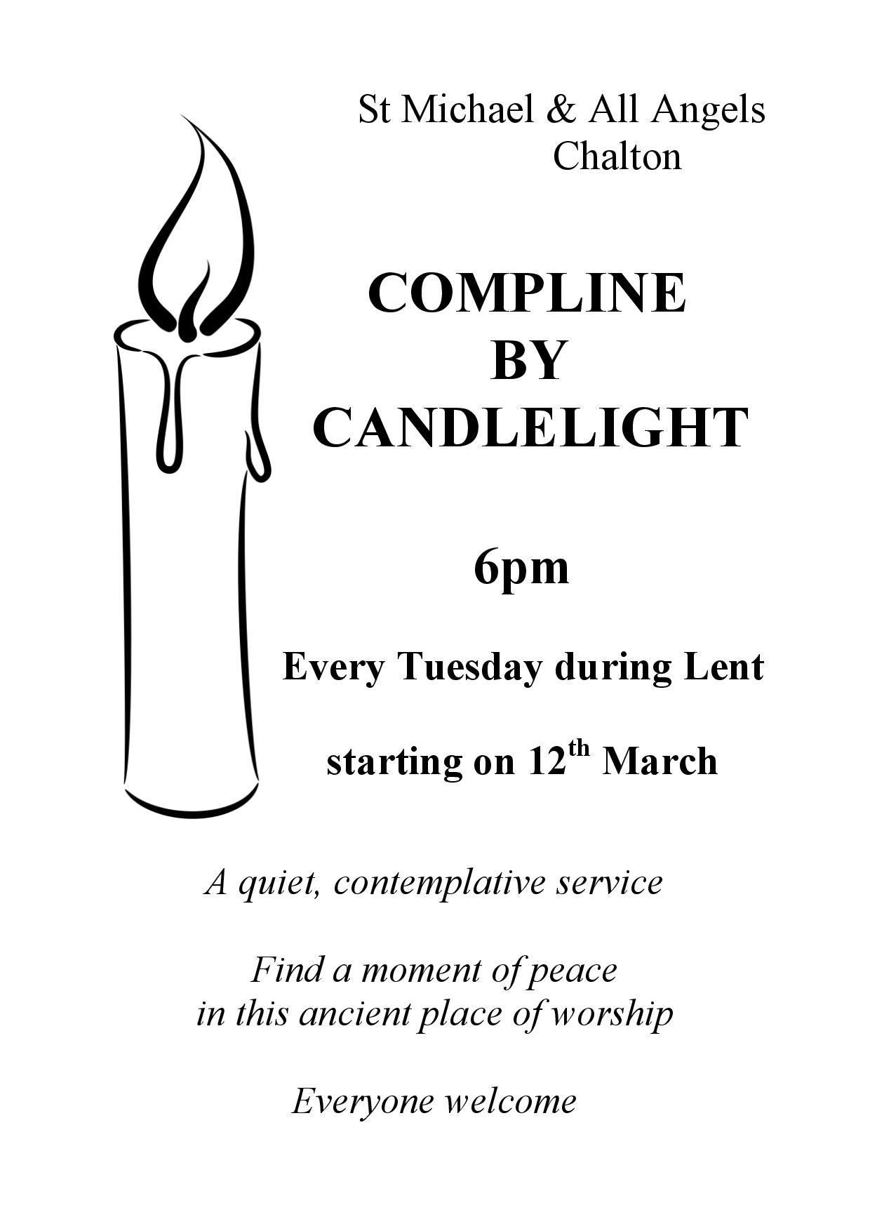 St Michael's Church, Compline by Candlelight