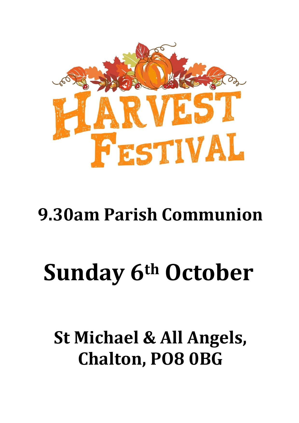 St Michael's Church, Harvest Festival