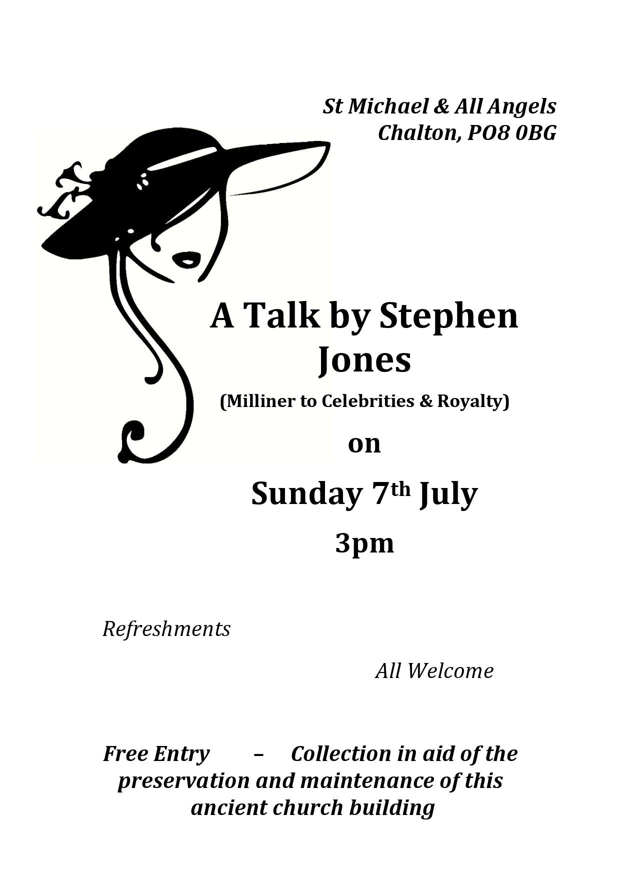 St Michael's Church, A Talk by Stephen Jones
