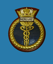 HMS Mercury Blue Plaque Scheme