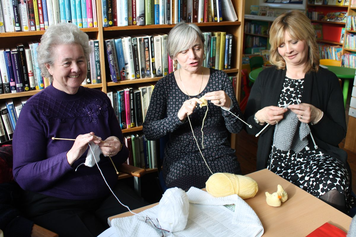 Knitter Natter at your local library