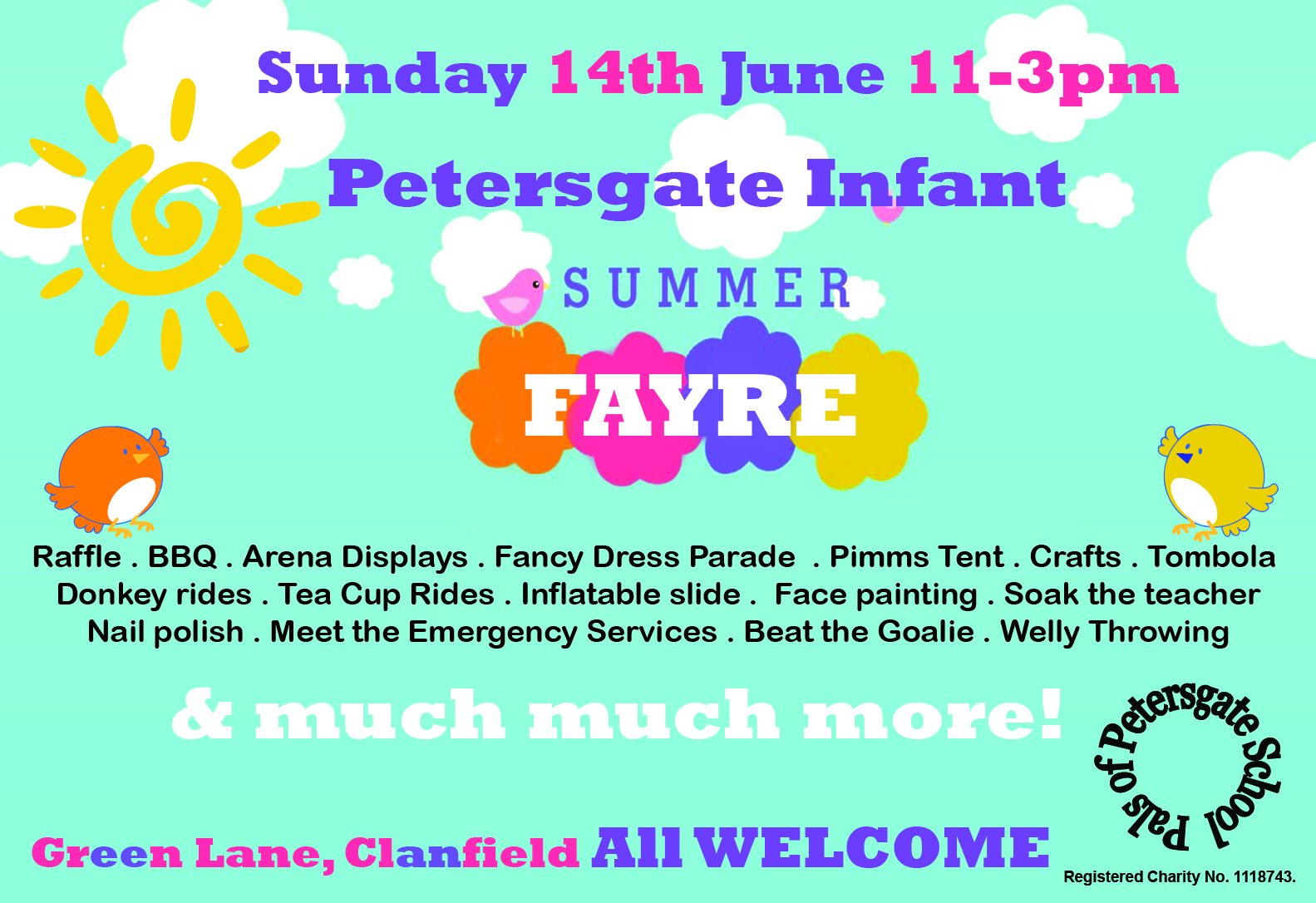 Summer Fayre at Petersgate Infant School