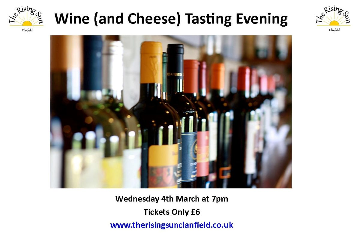 Wine (and Cheese) Tasting Evening