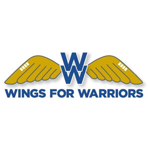 Wings for warriors logo