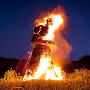Wickerman Burning