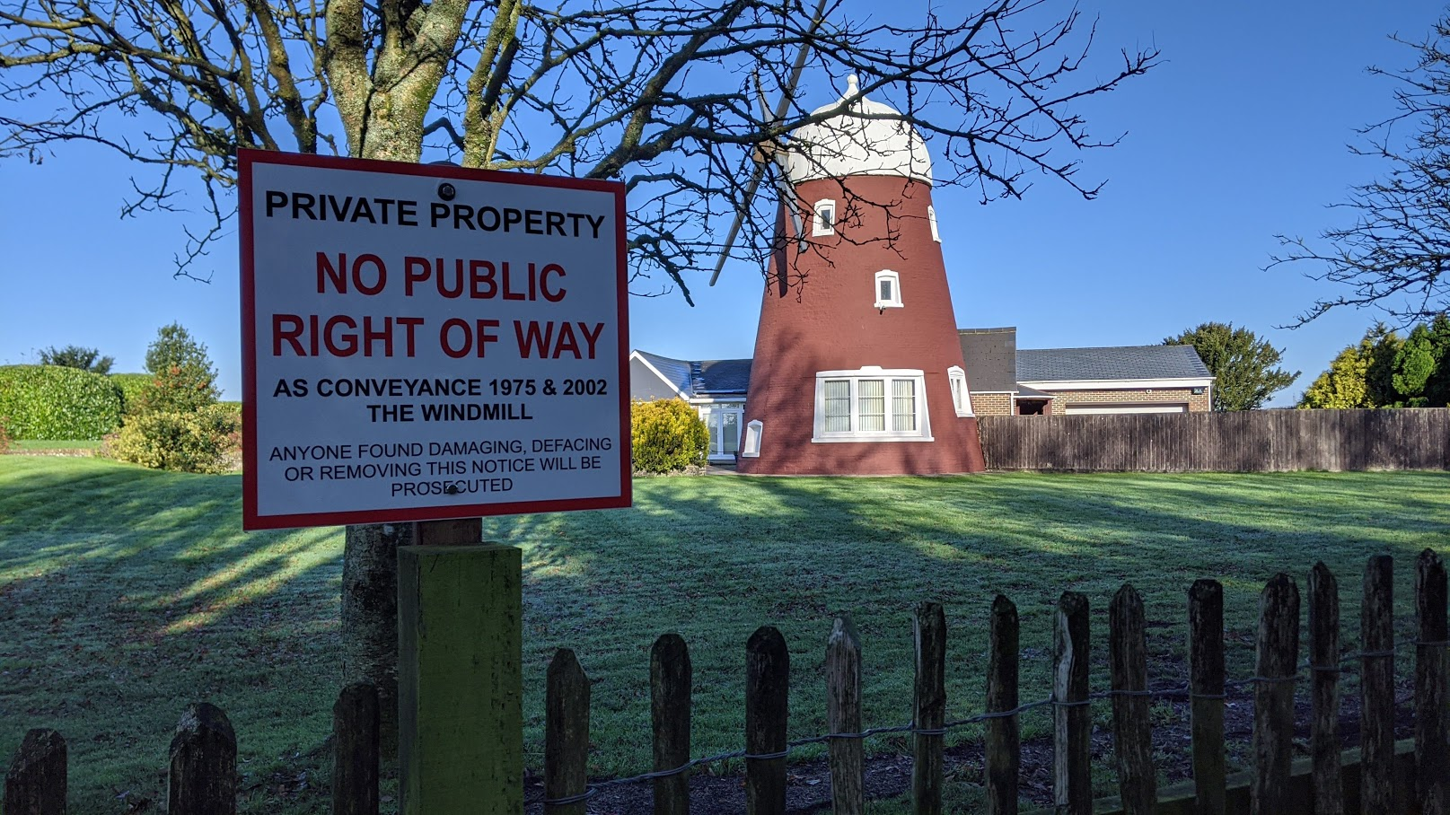 Windmill Path – footpath blocked again