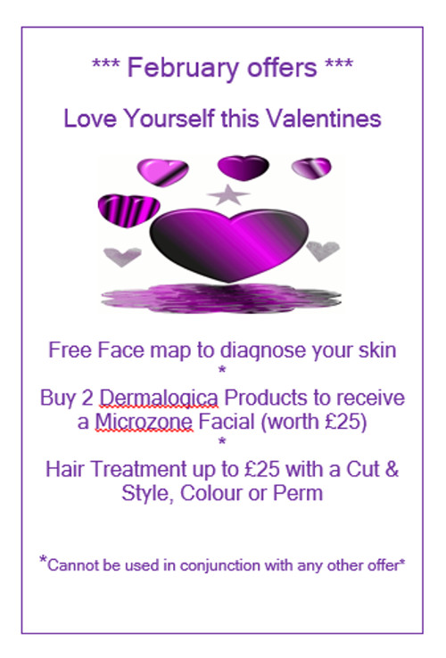 Super Valentine Offer from Evolve Hair and Beauty